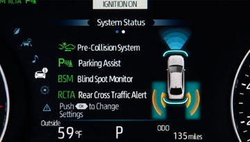 2019 Avalon Hybrid Smart Safety
