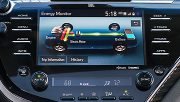2019 Camry Hybrid Connective Technology