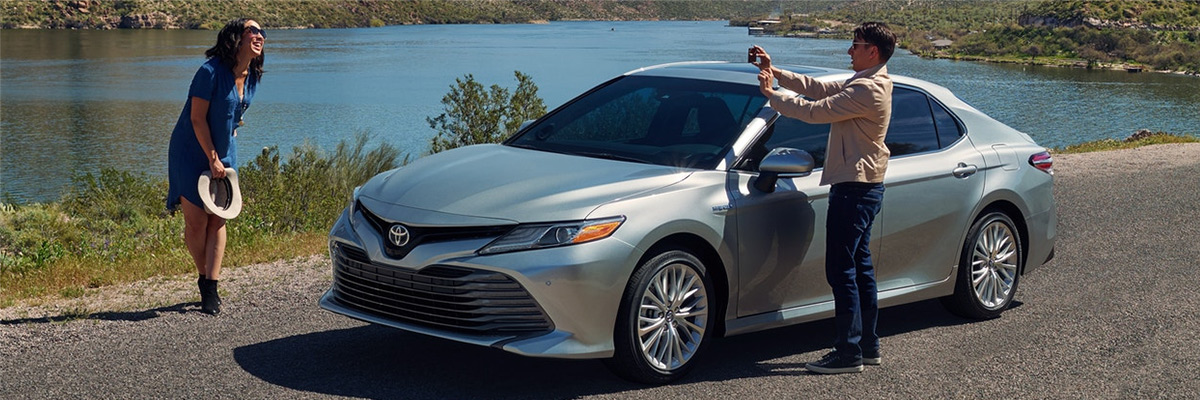 2019 Camry Hybrid Outdoors