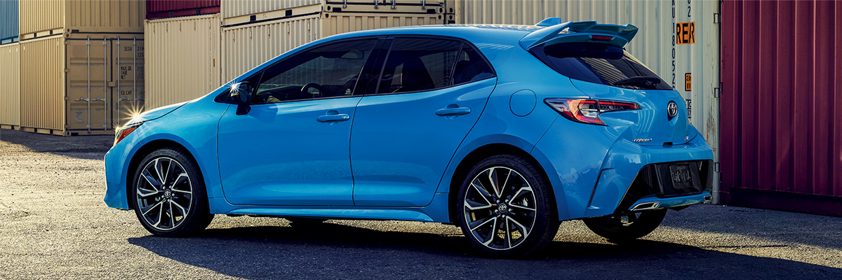 Find Your 2019 Corolla Hatchback