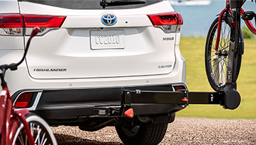 2019 Toyota Highlander Hybrid Hitch