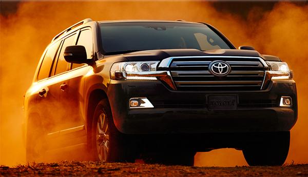 2019 Toyota Land Cruiser Desert