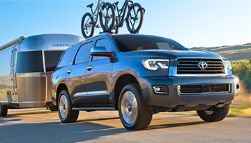 2019 Toyota Sequoia Trailer