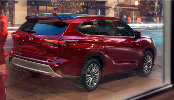 Toyota Highlander_Hybrid 2020