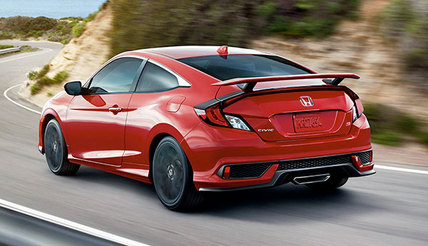 2021 Honda Civic Si Coupe